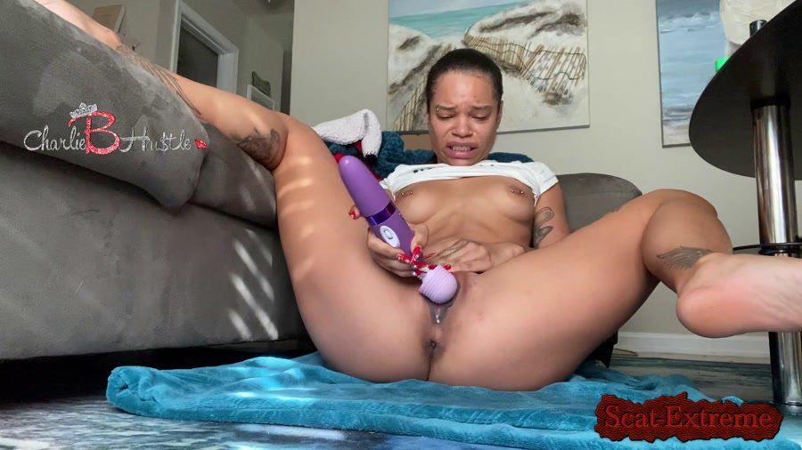 ScatCatCharlieB FullHD 1080p Solo double penetration gone wrong [Solo, Shitting, IR, Masturbation, Dildo, Toys]