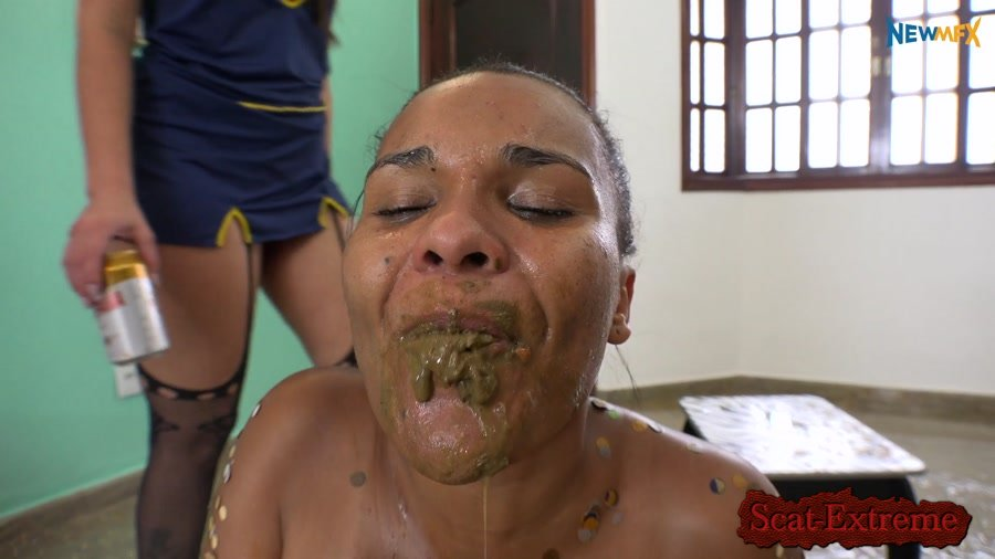 Brazil FullHD 1080p Carnival party: unwelcome guest [Domination, Scat Porn, Humiliation, Lesbians]