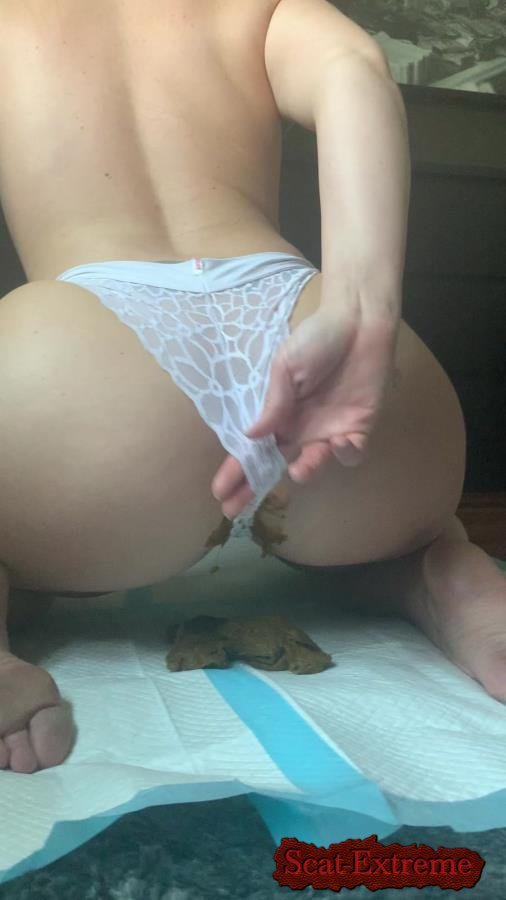 Natalielynne699 UltraHD 2K This panty poop turned real messy [Poop, Defecation, Extreme Scat, Scatology, Solo]