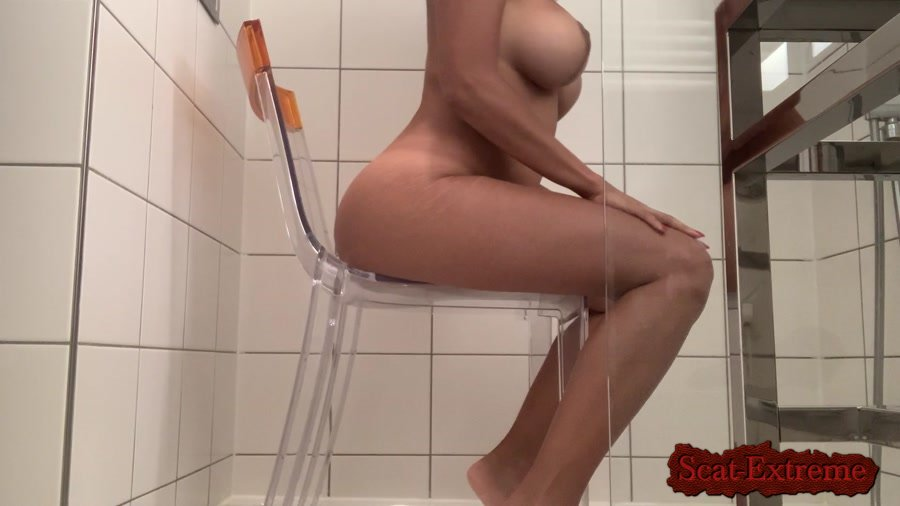 kinkycat FullHD 1080p The paris chair video [Defecation, Extreme Scat, Solo, Pozing]